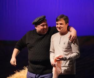 Геннадий Туркин (Александр Канев) и Юрий Романов (Валериан Канев)