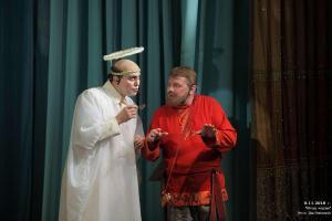 Апостол (Андрей Епанешников) и Сюзь Матвей (Сергей Туркин)