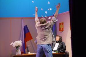 Виктор (Сергей Туркин), Нина Ивановна (Алёна Сметанина)