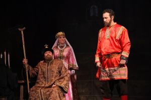 Иван III (Сергей Туркин), Софья Палеолог (Елена Чувьюрова), Микал ӧксай (Андрей Епанешников)