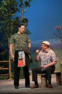 Соров (Андрей Епанешников) и Ӧртьӧ (Сергей Туркин)