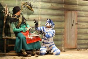 Баба Яга и кот