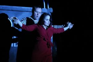 Гертруд Матев (Андрей Засухин) и Люся Шишкина (Анна Попова)