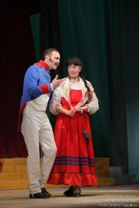 Мишель Канье (Андрей Епанешников) и Глафира (Алёна Сметанина)
