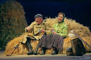 Пантиль (Сергей Туркин) и Фотинья (Елена Чувьюрова)